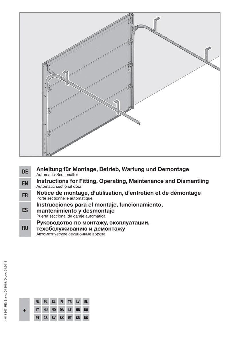 Isomatic | Automatik - Garagen - Sectionaltor